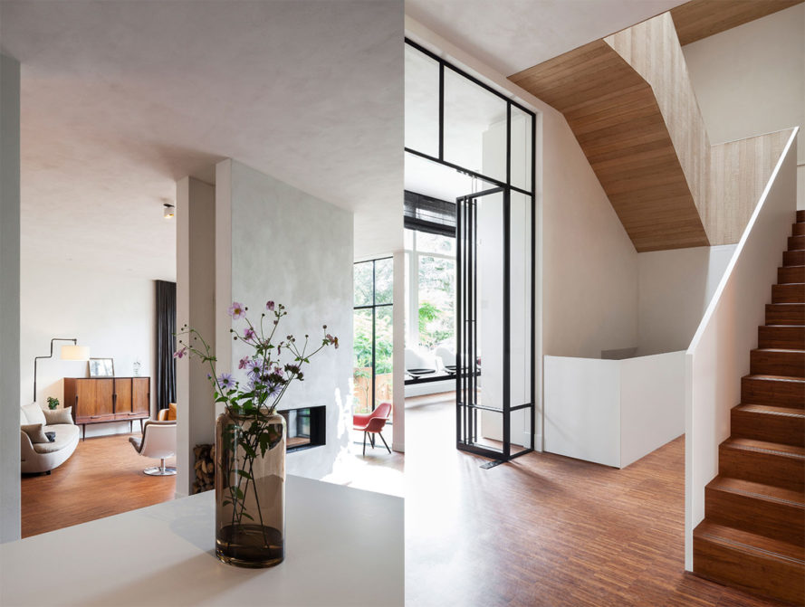 Townhouse Kralingen by Paul de Ruiter Architects, museum converted to house, Rotterdam architecture, heat pump in architecture, adaptive reuse projects in Rotterdam