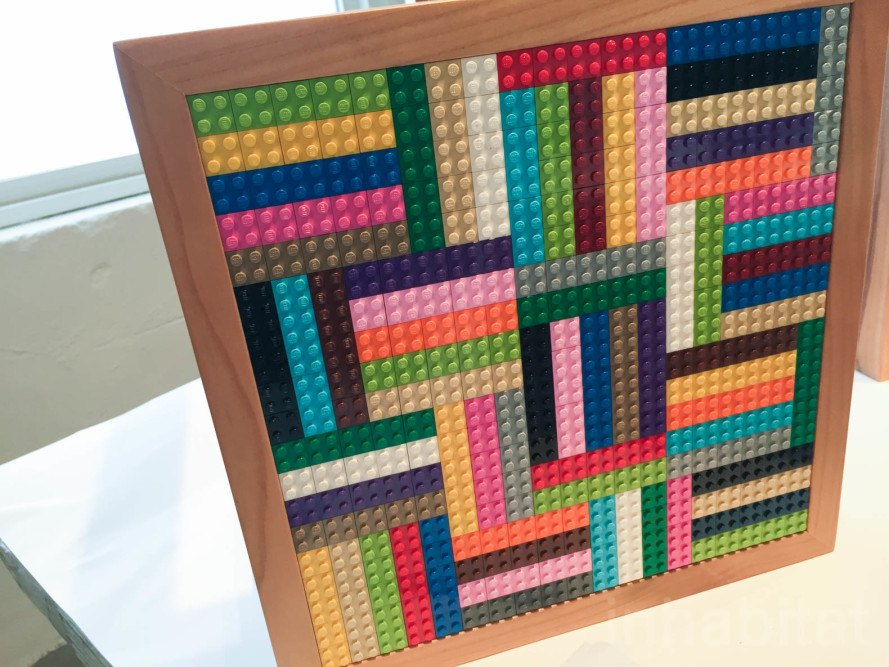 LEGO, LEGO tables, upcycled LEGO tables, milan design week 2016