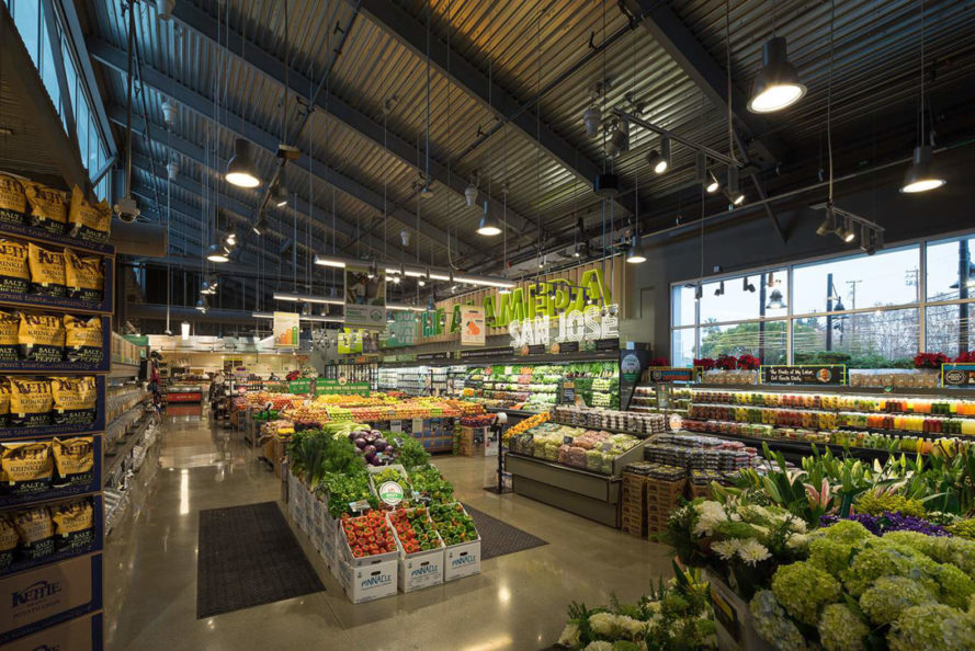 san jose, whole foods, whole foods market, green buildings, green grocery store, leed gold, off the grid, microbreweries, salvaged materials, reclaimed materials
