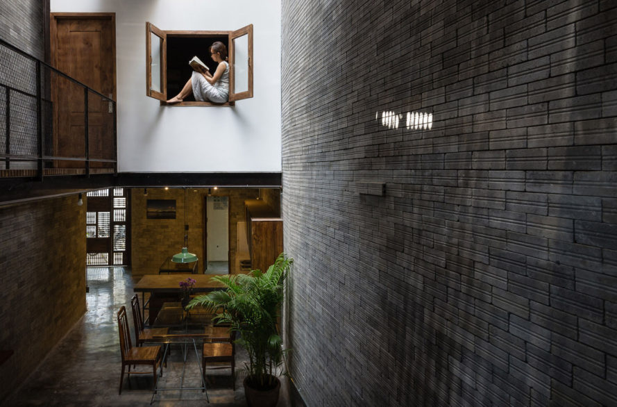 Vietnam's Tranquil Zen House looks and