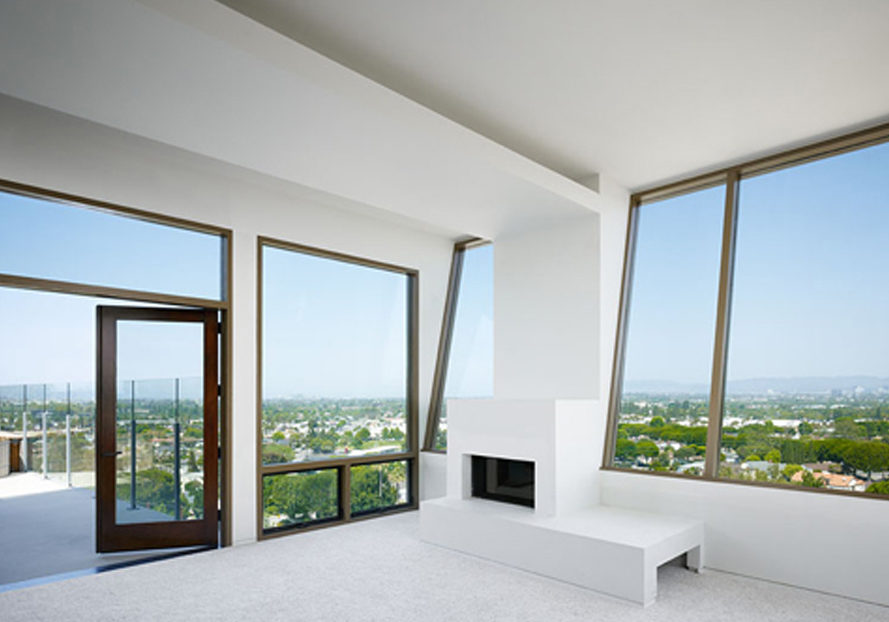 Culver city hill house, studio nova, home depot, sustainable house, net-zero energy, culver city, architecture, green building, natural lighting, natural ventilation, solar power, stuart magruder