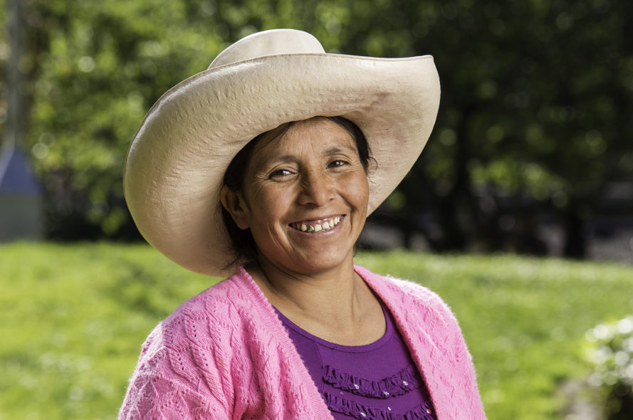 Maxima Acuña, recipient 2016 Goldman Environmental Prize, Central and South America.