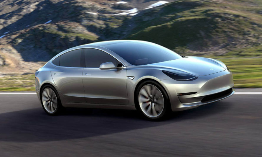 Tesla unveils 35K Model 3 electric car for the masses with