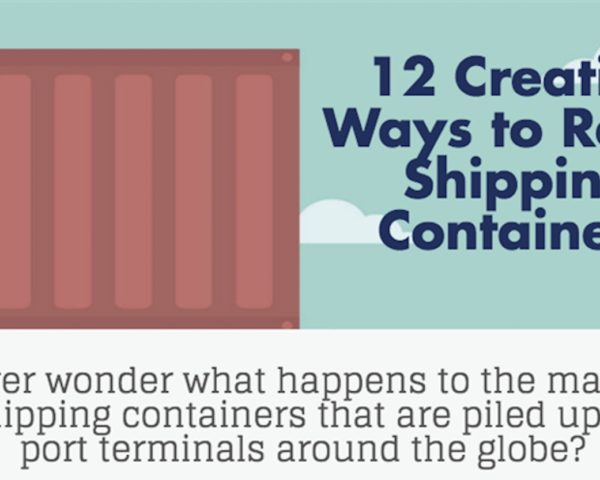 shipping containers, cargotecture, Market Inspector, infographic, reader submitted content