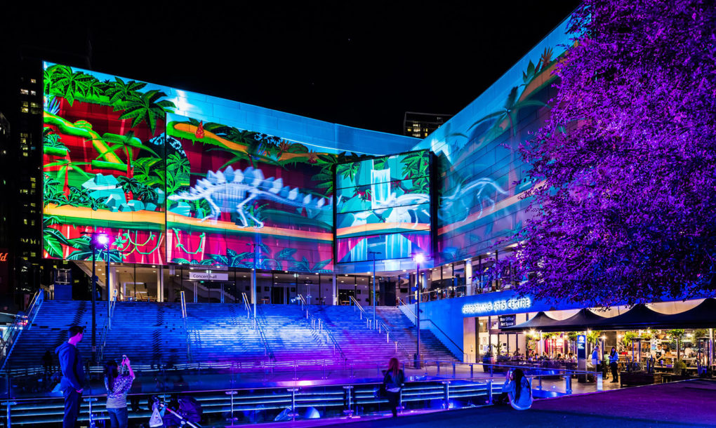 Dazzling Light Installations Flood Sydney Streets For The