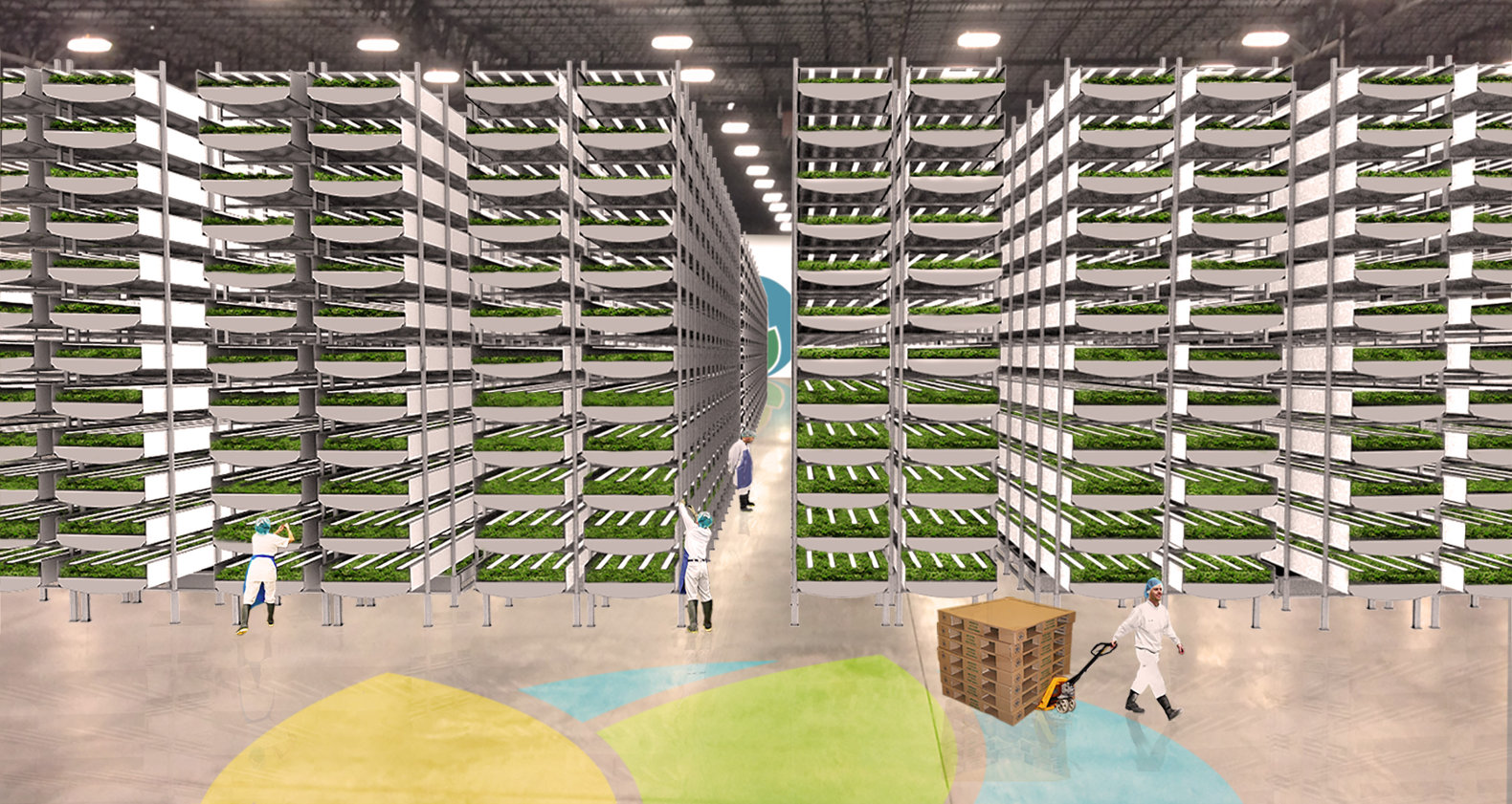 AeroFarms is building the world's largest indoor vertical farm just 45 mins from Manhattan