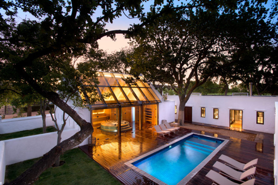 babylonstoren, south africa, cape dutch, farm, vineyard, wineries, restaurants, spa retreats, heated swimming pool, sauna, ozonated pools