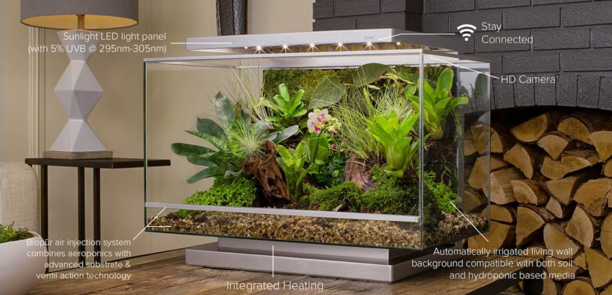 Biopod lets you grow your own smart miniature rainforest
