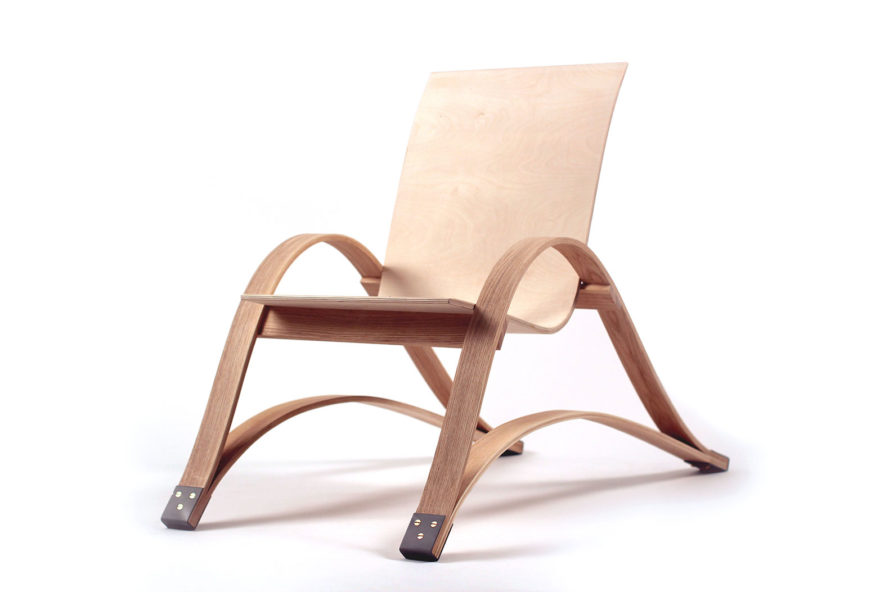 Learn How To Make A Modern Bow Spring Chair From Harvard Grad