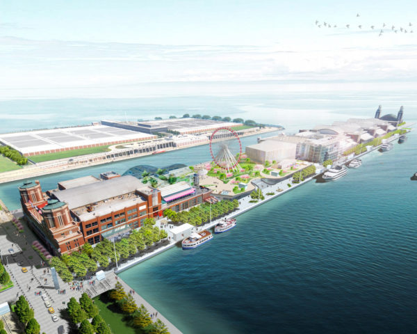 Navy Pier by James Corner Field Operations, Chicago Navy Pier redevelopment, Navy Pier SITES, Chicago Navy Pier Centennial vision,