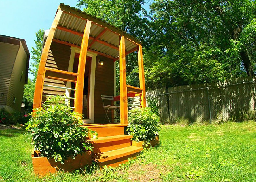 Orange, Orange Tiny Home, Vagavond, tiny home, tiny house, off-grid, Yakisugi, non-toxic, non-toxic materials, disaster proof design, resilient design, disaster proof home