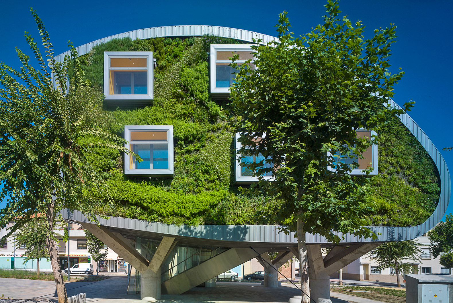 Net Zero Building Inhabitat Green Design Innovation