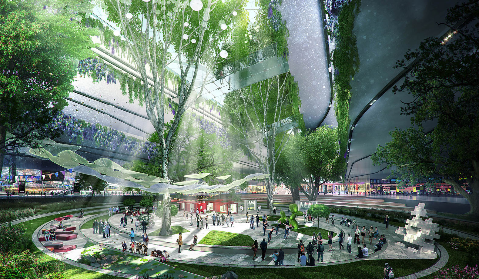 Exciting new designs for Heathrow Airport's expansion unveiled