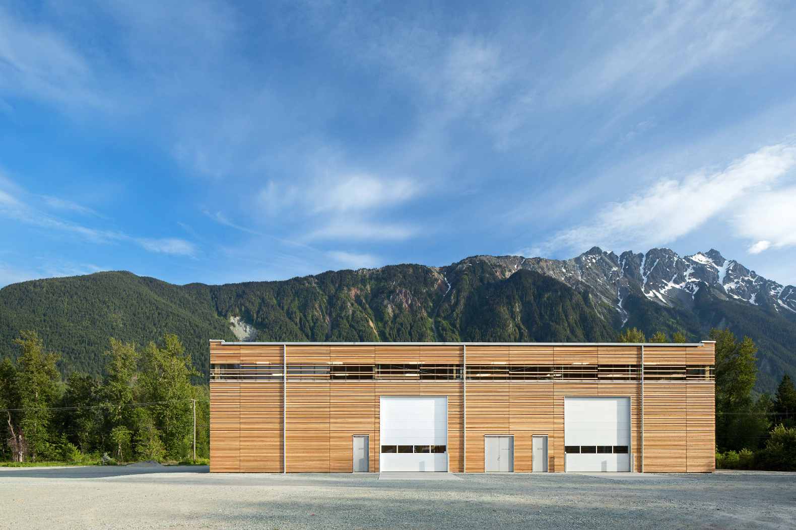 This Canadian Passive House Factory Was Built From Its Own Prefab Wood  Panels
