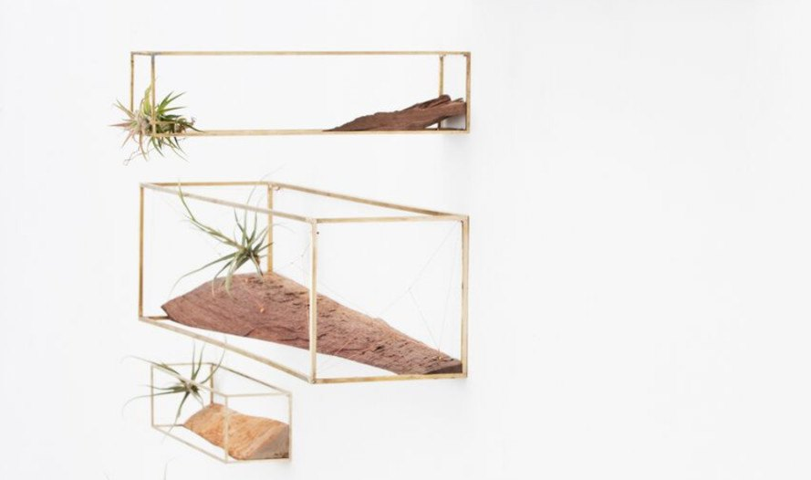 huy bui, geological frames, patrick parrish gallery, wood art, recycled art, recycled materials, plant-in-city, modular design