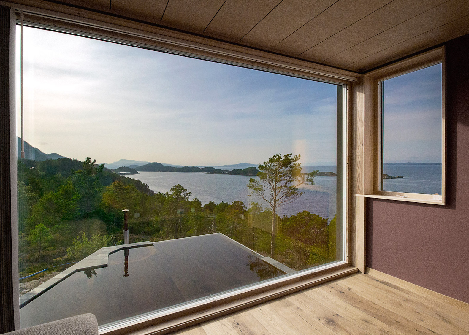 Beautiful timber cabins replace a dilapidated home on Norway's ...
