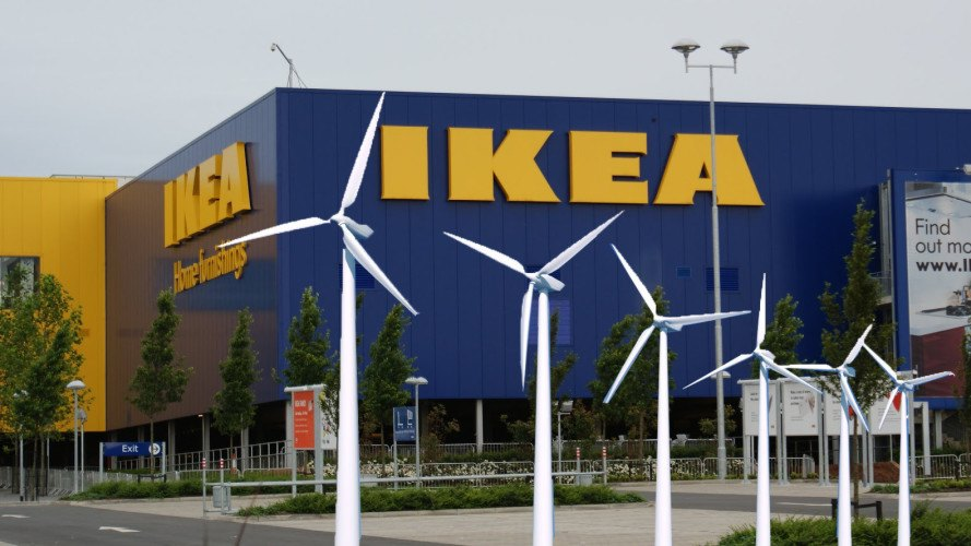 Ikea reaches for net positive energy status in the next for Ikea shops london