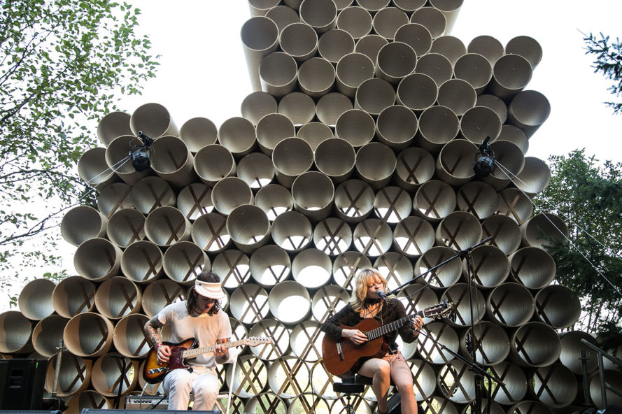 pickathon, pickathon music festival, Portland State University, Diversion Design/Build Studio, diversion architecture, what is diversion architecture, green design, sustainable design, tree line stage