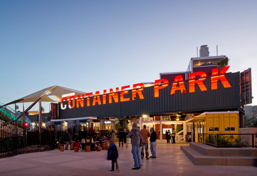 Eye Catching Container Park S Creative Cargotecture