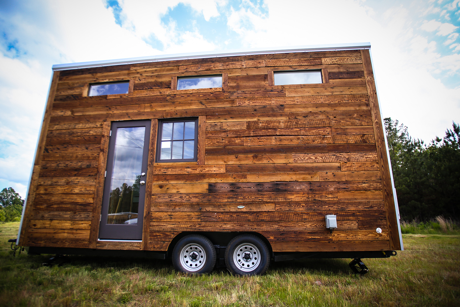 Lamon Luther, Brian Preston, Wood, Reclaimed Wood, Furniture, Tiny House,