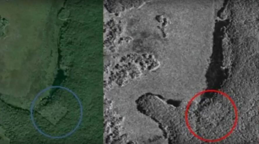 Maya, Mayans, Mayan civilization, Mayan city, satellite images, lost Mayan city, constellations, stars, William Gadoury, Canadian Space Agency