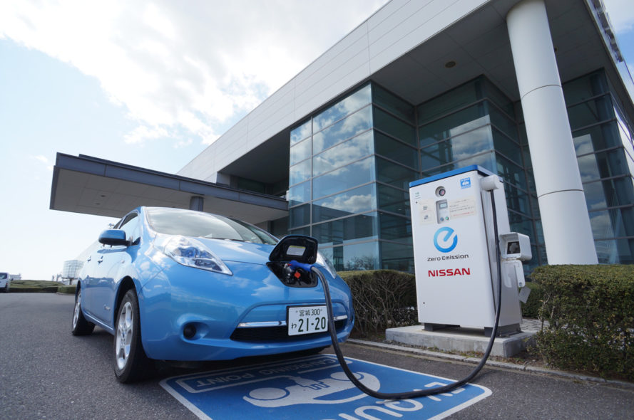 An Has More Electric Vehicle Chargers Than Gas Stations