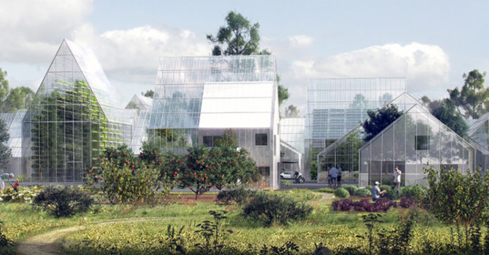 Utopian off-grid Regen Village produces all of its own food and energy