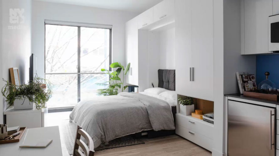 Inside NYCs first micro apartment building transforming