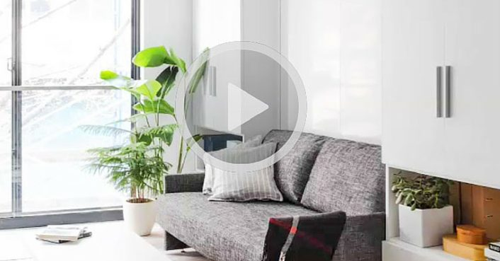 See inside nyc s first micro apartment building transforming furniture for tiny spaces carmel - Transforming furniture for small spaces image ...