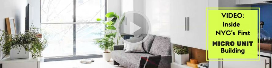 Inside NYC\'s first micro apartment building + transforming ...
