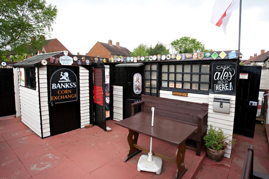 2016 Shed of the Year, Shed of the Year, Cuprinol, Uncle Wilco, competition, shed, sheddies, shed design, shed architecture, design, architecture, United Kingdom, Stephen's Pub, pub, pub shed