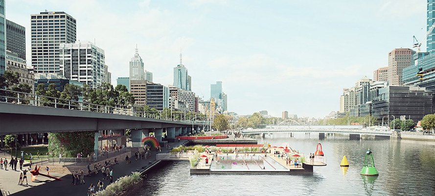 Australia, river, Yarra River, Yarra River Pool, polluted river, river pool, Arup Engineers, Yarra Swim Co., water