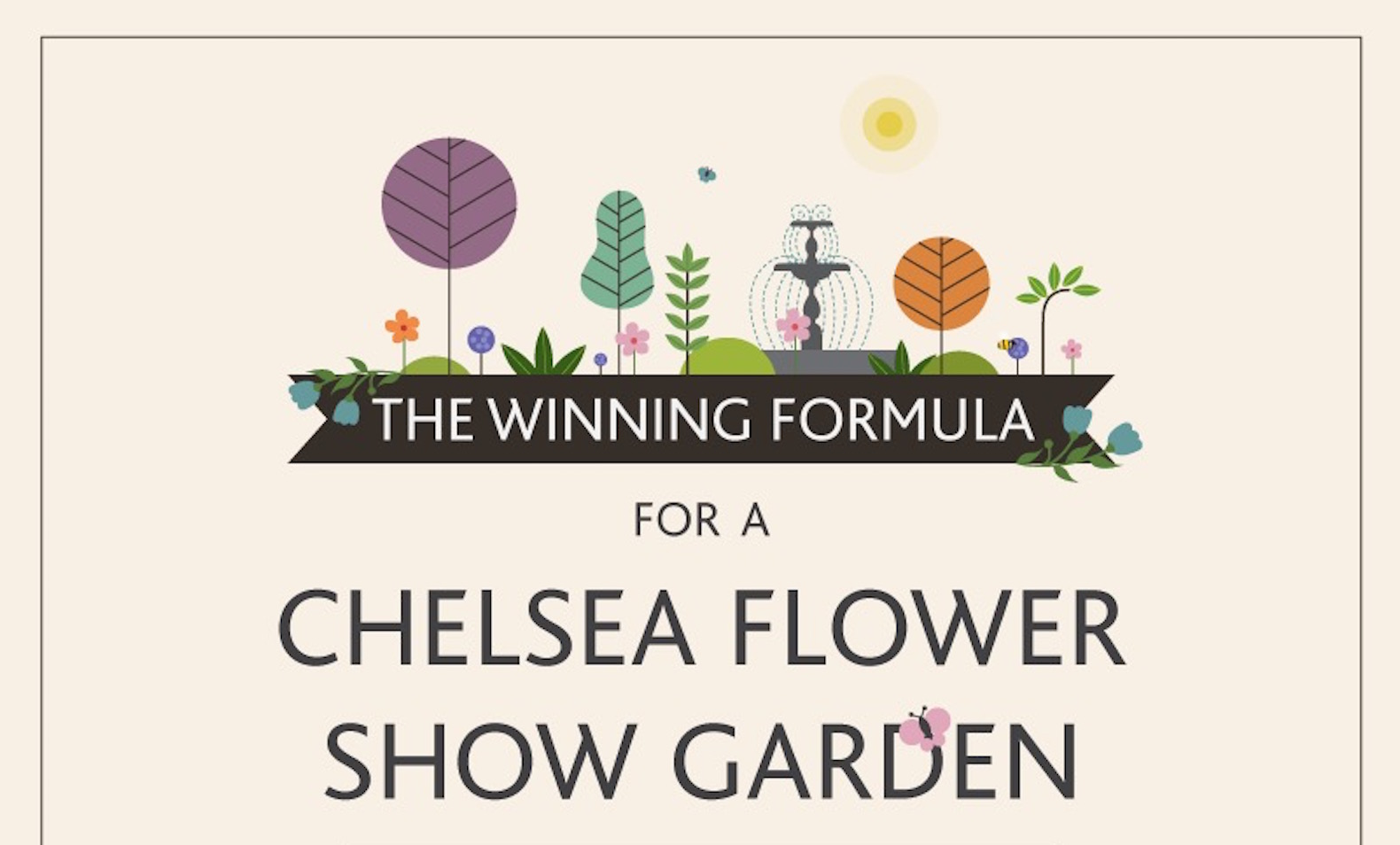 how to create a prize winning show garden