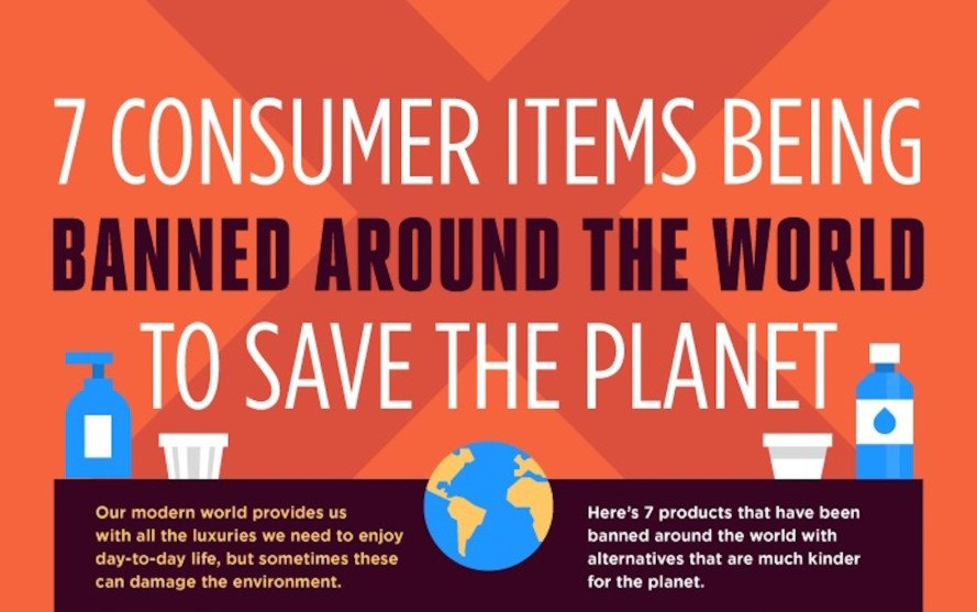 7 products banned around the globe to help save the planet