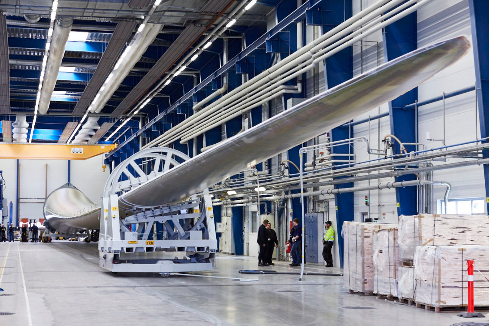 World's longest wind turbine blade expected to drive down offshore energy costs