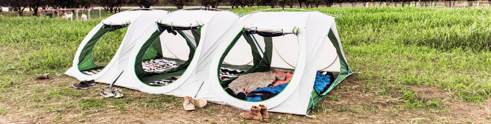 Aliteu0027s pop-up Sierra Shack tents connect to create multi-room shelters | Inhabitat - Green Design Innovation Architecture Green Building & Aliteu0027s pop-up Sierra Shack tents connect to create multi-room ...