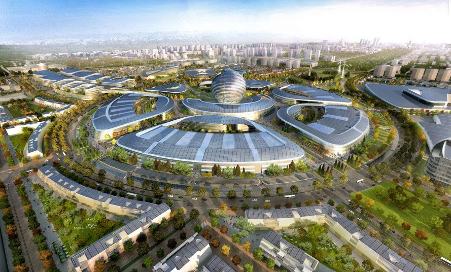 World Expo 2017, Expo City 2017, Adrian Smith + Gordon Gill Architecture, renewable energy, smart grid, green architecture, Kazakhstan Pavilion Expo 2017, solar power, wind power, water recycling, waste management system, clean energy