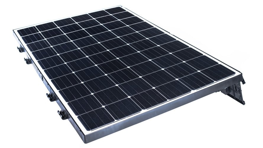 Beamreach Solar, Sprint solar panels, Beamreach lightweight solar panels, solar panels for flat roofs, solar panels for high temperatures, most efficient rooftop solar panels, solar panels installed in under two minutes