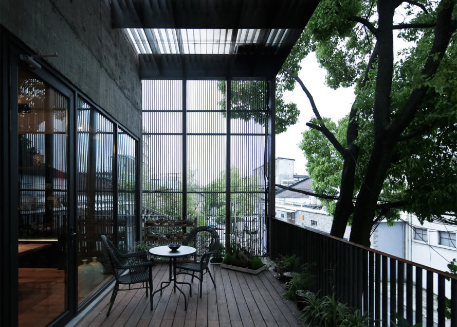 Ceramic House in Shanghai, adaptive reuse in Shanghai, Wuwei Creative Industry Park in Shanghai, Ceramic House by Archi-Union Architects,