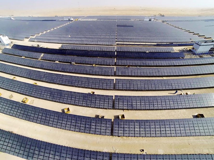 Dubai, Dubai Electricity and Water Authority, DEWA, solar power, concentrated solar power, concentrated solar power plant, solar energy, thermal energy, renewable energy, alternative energy, clean energy