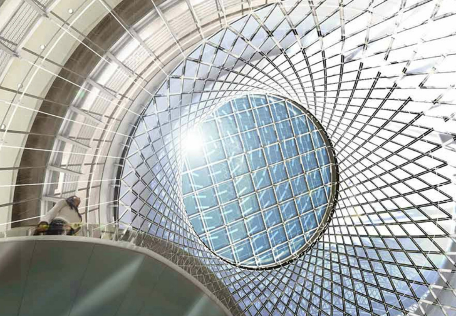 Dazzling Fulton Center Transportation Hub Achieves Leed