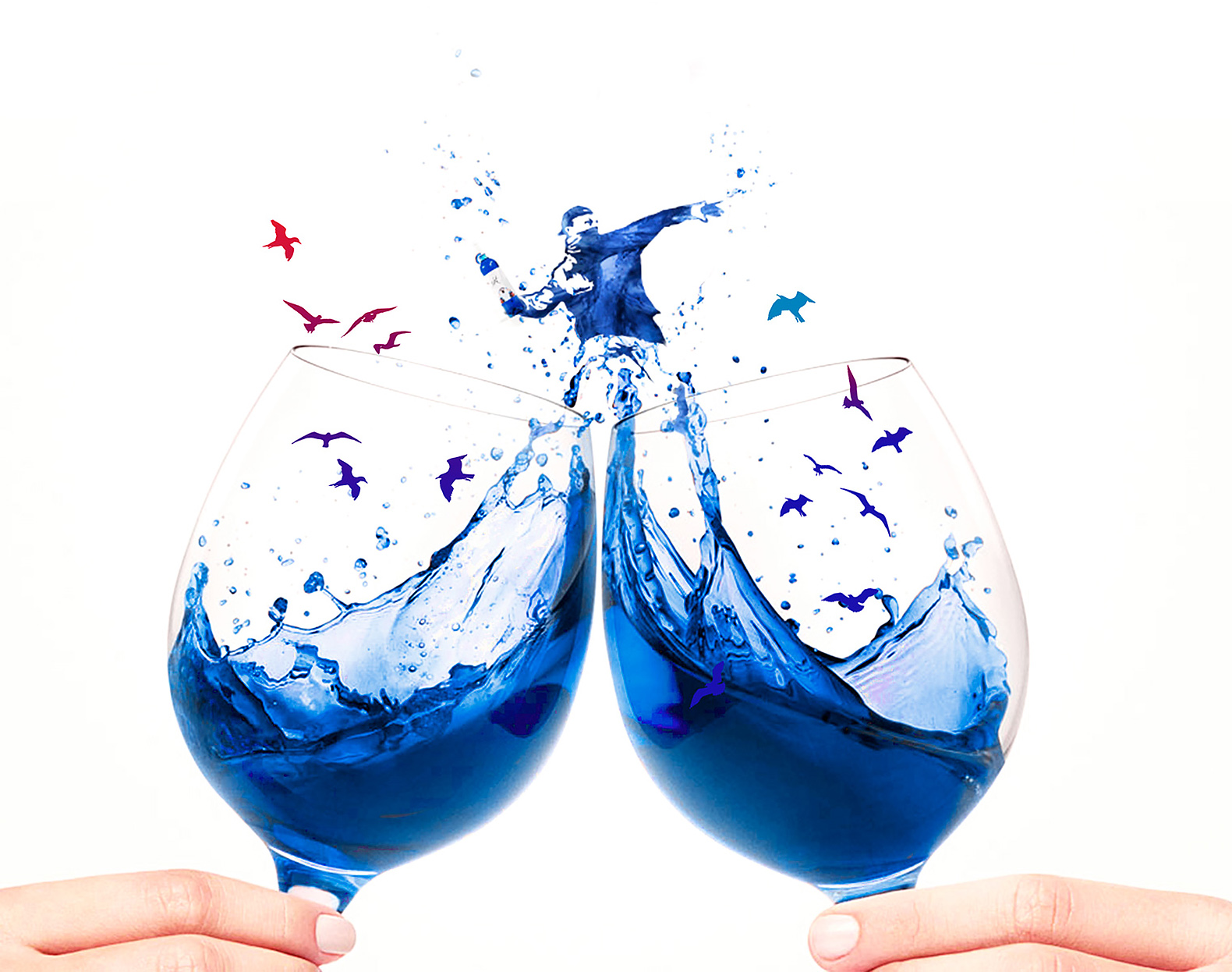 Gïk, Gïk Blue Wine, blue wine, wine, Basque Country, Spain, entrepreneuers, wine variety, Europe, European wine