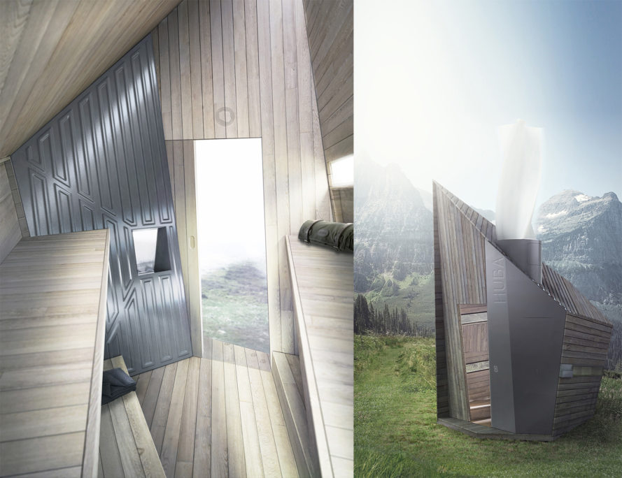 Huba Hut, Huba by Malgorzata Blachnicka, Huba Cradle to Cradle, Cradle to Cradle winner, modular alpine architecture