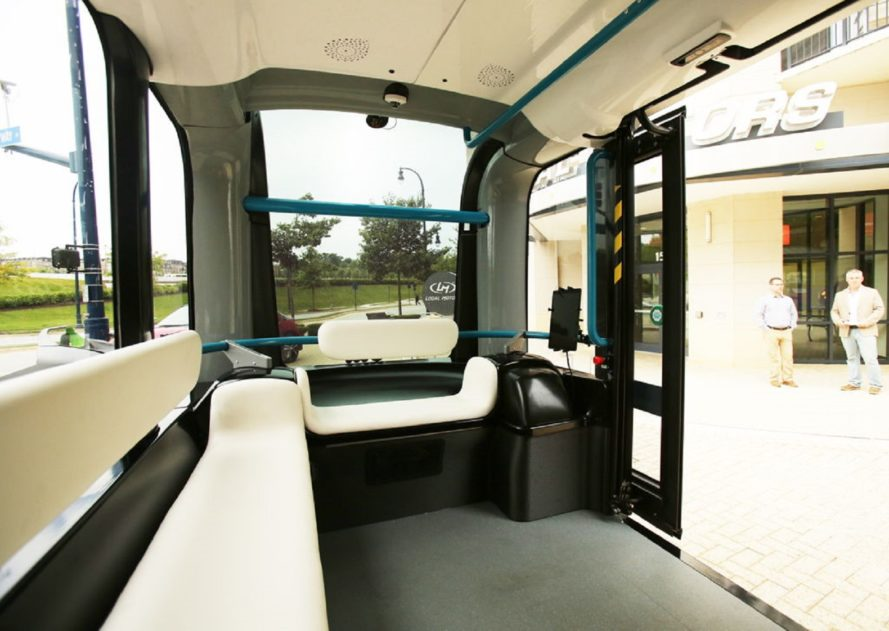 Olli, Olli bus, Olli self driving