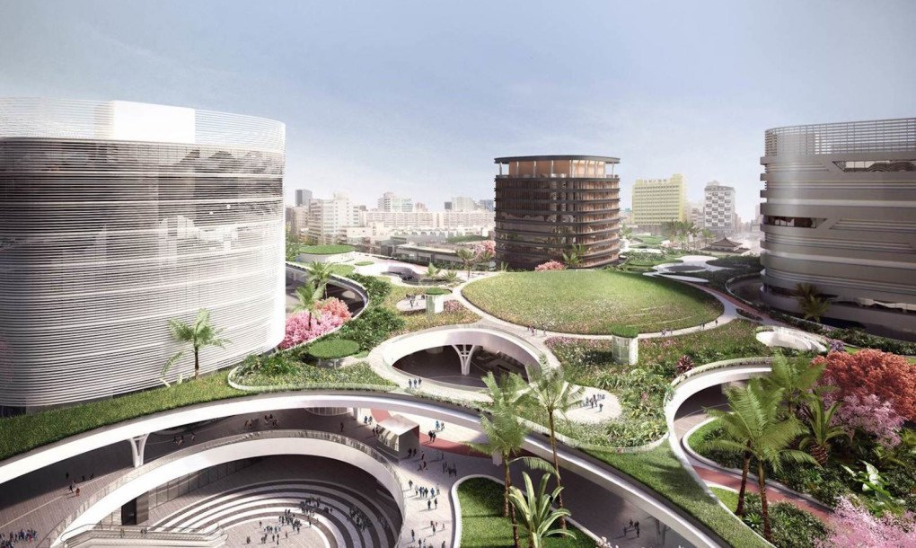 Mecanoo Designs Gorgeous Green Roofed Train Station For