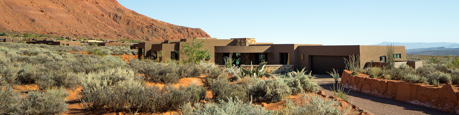 A Unique Community Of Modern Green Homes Hug The Desert Floor In Utah