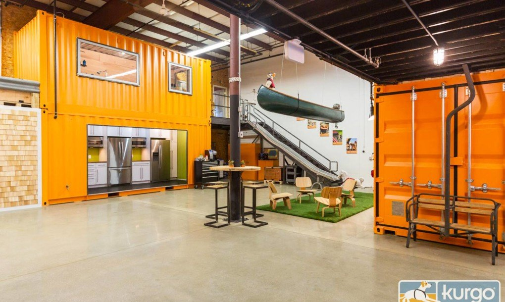 Things You Must Consider When Designing A Container House: Kurgo's Bright Orange Shipping Container Office Is A Haven