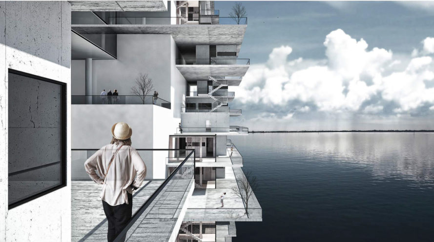 d3 Housing Tomorrow, housing competition, futuristic housing, green architecture, competition winners, cliff side architecture, transformable spaces, futuristic design, futuristic city