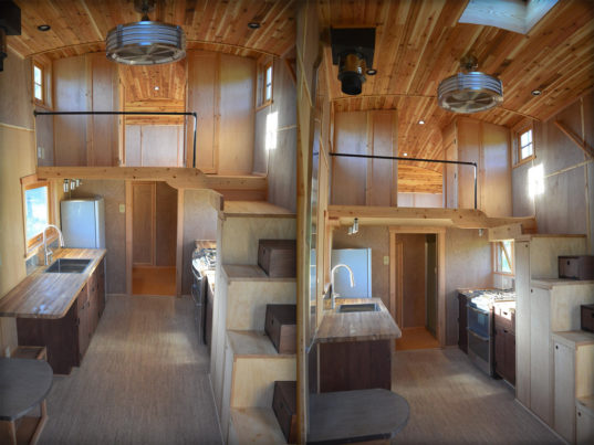 Stunning moon dragon is a fairytale like tiny house that for Small house design off grid