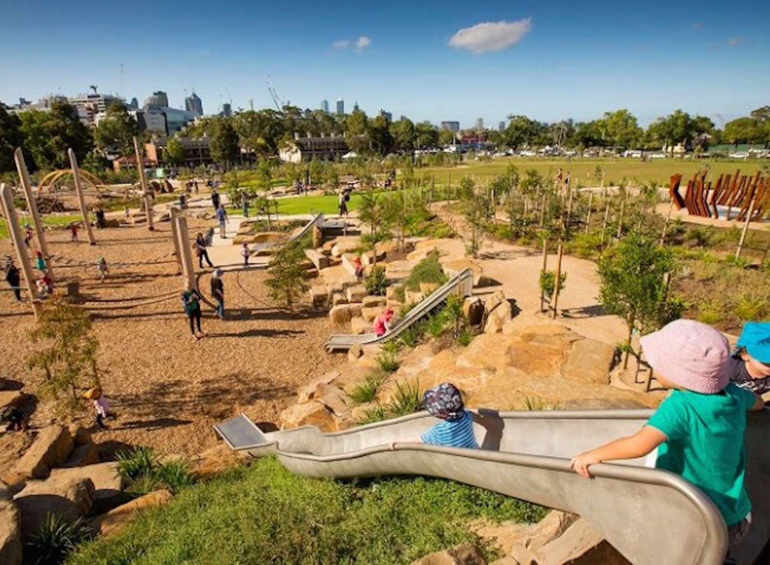 Australia's best outdoor playground is located in Melbourne
